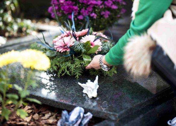 Notre service d'entretien de sépulture